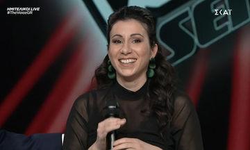 The Voice: Μπέρδεψε τα λόγια του τραγουδιού- Ο ενθουσιασμός της Παπαρίζου και η αποκάλυψη