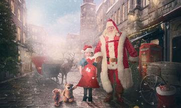 Επισκέπτονται νοσοκομεία και φωτογραφίζουν τα άρρωστα παιδιά με τον 'Αγιο Βασίλη (pics + vid)