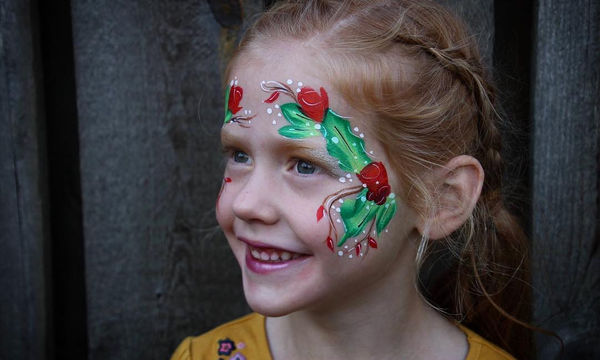 Μοναδικές ιδέες για γιορτινά σχέδια face painting για παιδιά (pics)