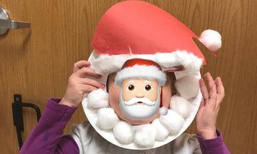 Φτιάξτε τον δικό σας Άγιο Βασίλη: Εύκολες κατασκευές για παιδιά (pics)