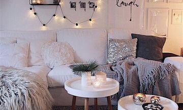 Deco: Διατηρήστε τη ζεστασιά των Χριστουγέννων στο σπίτι σας ακόμη και μετά τις γιορτές (pics)