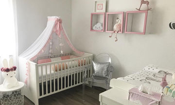 Περιμένετε κορίτσι; Ιδέες για να διακοσμήσετε το δωμάτιο της μικρής σας πριγκίπισσας (pics)
