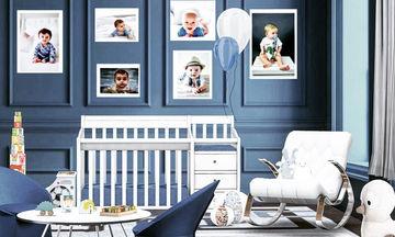 Ιδέες διακόσμησης για το βρεφικό δωμάτιο του αγοριού σας (pics)