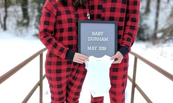 Περιμένουν μωρό το 2019 και δείτε πώς το ανακοίνωσαν! (pics)