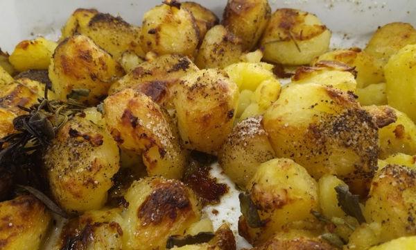 Τραγανές πατάτες φούρνου - Το μυστικό της επιτυχίας