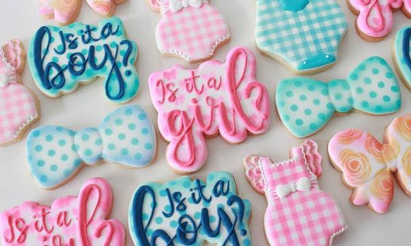 Φανταστικές ιδέες για να διακοσμήσετε τα μπισκότα που θα προσφέρετε στο baby shower (pics)