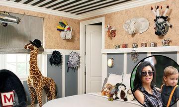 Διάσημοι γονείς μας δείχνουν τα υπνοδωμάτια των παιδιών τους (pics)