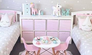 Αποχρώσεις του ροζ: Ιδέες διακόσμησης για το κοριτσίστικο δωμάτιο (pics)