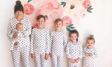 Είναι μαμά 5 παιδιών και το απολαμβάνει! Δείτε πώς τα καταφέρνει (pics)