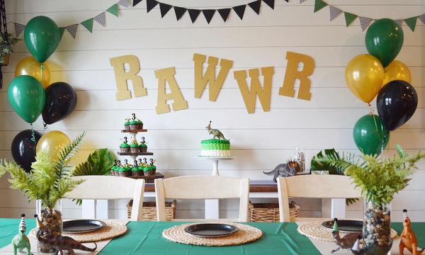 Παιδικό πάρτι με θέμα τους δεινόσαυρους - Σας  έχουμε απίθανες ιδέες (pics)