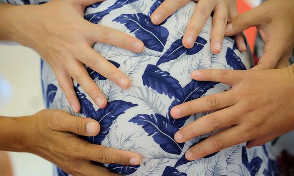 «Παρακαλώ μην αγγίζετε την κοιλιά μου!»: Πώς να αποφύγετε τα ενοχλητικά χέρια κατά την εγκυμοσύνη