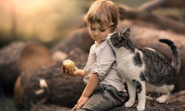 Μαμά αποτυπώνει σε φωτογραφίες τη μοναδική σχέση του γιου της με τις γάτες  (pics) f9aa925ebbc