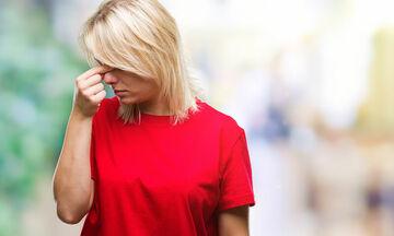 Πονοκέφαλος: Πότε οφείλεται στο ρινικό διάφραγμα
