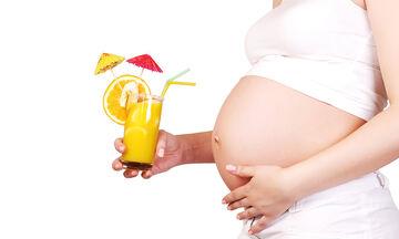 Εγκυμοσύνη και διατροφή: Κοκτέιλ πλούσια σε φιλικό οξύ ειδικά για μέλλουσες μαμάδες