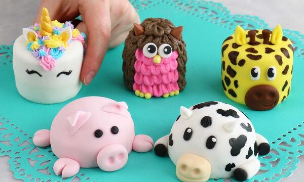 Αυτά τα χαριτωμένα ζωάκια ...τρώγονται - Δείτε πώς θα τα φτιάξετε (vid)