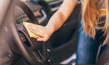 5 μυστικά για να καθαρίσετε το εσωτερικό του αυτοκινήτου σας