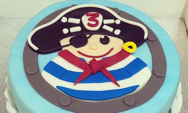 Εκπληκτικές ιδέες για να διακοσμήσετε την τούρτα γενεθλίων του μικρού σας πειρατή! (pics)