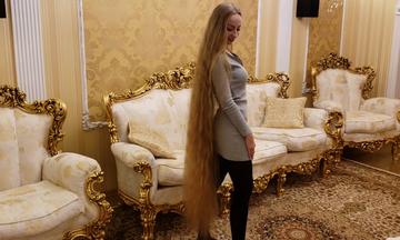 Η Rapunzel υπάρχει και έχει να κόψει τα μαλλιά της 28 χρόνια! (vid)