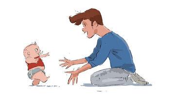Πατέρας περιγράφει τη σχέση με τον γιο του μέσα από 9 υπέροχα σκίτσα (pics)