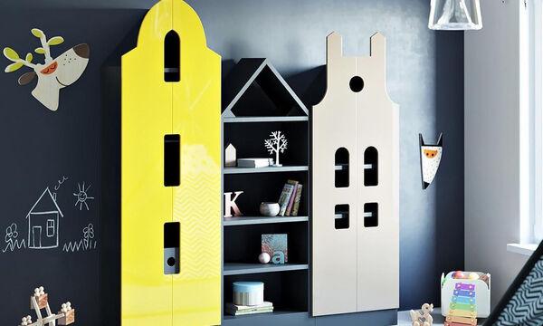 Έξυπνες και πρακτικές κατασκευές για το παιδικό δωμάτιο (pics)