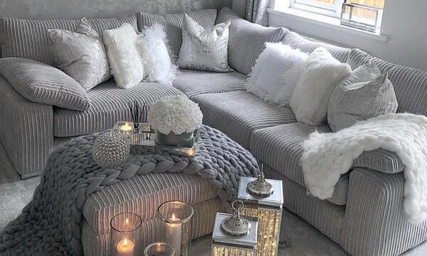 Καθιστικό σε γκρι χρώμα: Οι καλύτεροι συνδυασμοί που μπορείτε να κάνετε (pics)