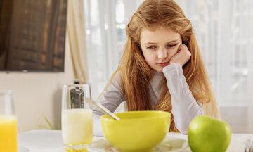 Παιδική δυσφαγία: Πώς την αντιμετωπίζουμε;