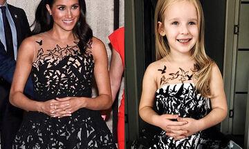 Αυτή η μαμά φτιάχνει από χαρτί για την πεντάχρονη κόρη της τα πιο ωραία φορέματα διασήμων