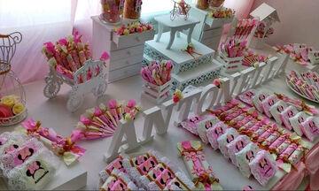 Candy bar: Εβδομήντα ιδέες για το παιδικό πάρτι (pics + vid)