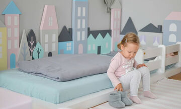 Το κρεβάτι της μεθόδου Montessori: Μια διαφορετική πρόταση για το παιδικό δωμάτιο (pics)