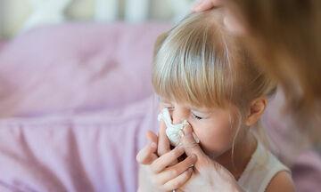 Πώς θα προφυλάξουμε τα παιδιά από τη γρίπη
