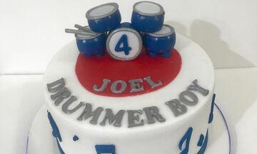 Τούρτες γενεθλίων για τον μικρό σας drummer! (pics)