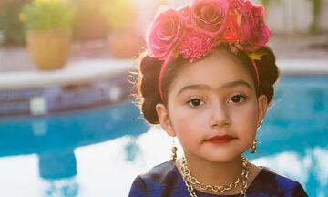 Frida Kahlo: Αποκριάτικη στολή για την κόρη σας με ρούχα και αξεσουάρ που έχετε ήδη (vid+pics)