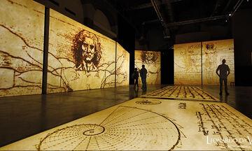Leonardo Da Vinci - 500 Years of Genius: Έκθεση για το έργο του μεγάλου καλλιτέχνη και εφευρέτη