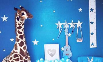 Μα τι κάνει αυτή η καμηλοπάρδαλη στο δωμάτιο του παιδιού; - Ιδέες διακόσμησης (pics)