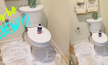 Με αυτό το κόλπο θα διώξετε την άσχημη μυρωδιά από το μπάνιο σας (pic&vid)