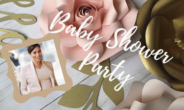 Κάντο όπως η Δούκισσα του Sussex και οργάνωσε το πιο ρομαντικό baby shower party (pics)