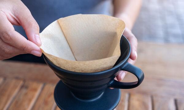 6 ασυνήθιστες χρήσεις των φίλτρων καφέ που δεν έχετε φανταστεί