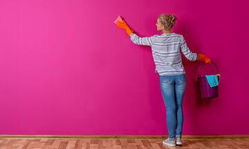 Πώς να καθαρίσετε τους τοίχους σας από δύσκολους λεκέδες