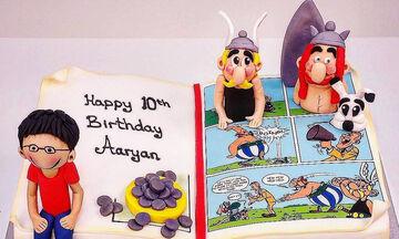 Αστερίξ: Τούρτες γενεθλίων με θέμα τον αγαπημένο ήρωα των παιδιών (pics)