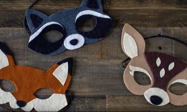 Απόκριες 2019: Δείτε πώς θα φτιάξετε χειροποίητες μάσκες (vid)