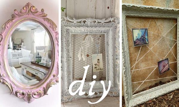 Deco: Φτιάξτε υπέροχες vintage κορνίζες για να διακοσμήσετε το σπίτι σας (pics)