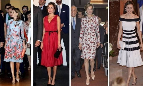 Βασίλισσα Λετίσια της Ισπανίας: Δείτε πόσες φορές μας έχει εντυπωσιάσει με το στιλ της (vid)