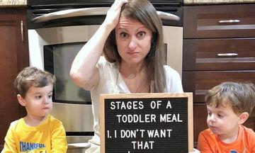 «Μαμά πεινάω»: Μια μαμά μας μιλάει για τον καθημερινό… «πονοκέφαλο» (pics)