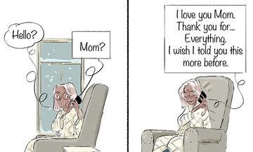«Μαμά, σ' αγαπώ»: Γιος εκφράζει την αγάπη στη μητέρα του μέσα από καταπληκτικά σκίτσα (pics)
