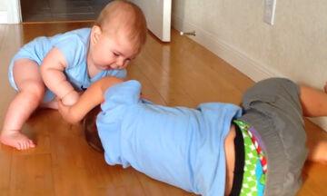 Δείτε τι συμβαίνει όταν τα μικρότερα αδέλφια περνούν στην …αντεπίθεση (vid)