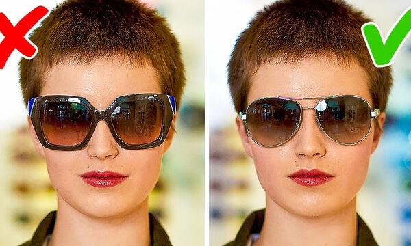 Γυαλιά ηλίου : Πώς να επιλέξετε τα κατάλληλα για το πρόσωπό σας ( vid)