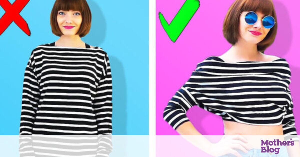 Πανέξυπνα κόλπα για τα ρούχα που θα σας λύσουν τα χέρια (vid) -  Mothersblog.gr e36665dabe9