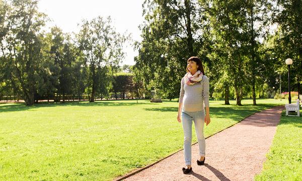 Τα οφέλη από το περπάτημα κατά τη διάρκεια της εγκυμοσύνης