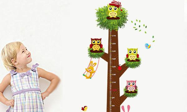 Ο καλύτερος τρόπος να μάθουν τα παιδιά να μετρούν το ύψος τους είναι αυτός