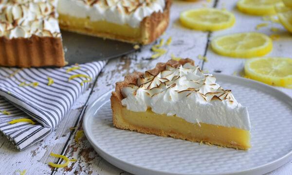 Λαχταριστή συνταγή για Lemon pie
